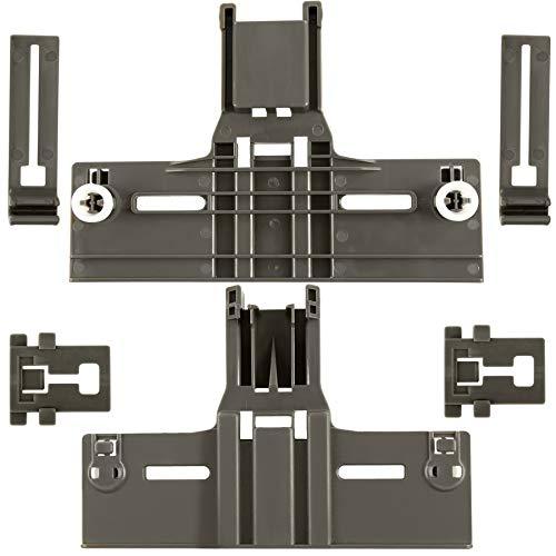 UPGRADED W10350376(2) W10195840(2) W10195839(2) Dishwasher part (6 Packs),W/ 0.9 In Diameter Wheel, Dishwasher Parts Upper Rack for Kitchenaid Whirlpool Maytag Kenmore W10350374 W10195840