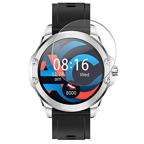 Vaxson 3 Unidades Protector de Pantalla, compatible con SENBONO S11 smart watch [No Vidrio Templado] TPU Película Protectora Reloj Inteligente Film Guard Nueva Versión
