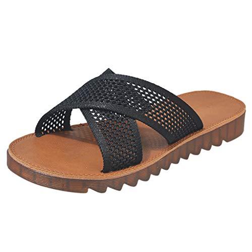 HEETEY Herrenhausschuh, Damenmode Freizeitschuhe Hausschuhe Sommer Flache Schuhe Pantoletten Sommer Hausschuhe rutschfest Gartenschuhe Badeschuhe Strand Aqua Slippers