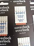 Schmetz: 25 Agujas para máquina de Coser – ELx705 CF – máquina overlock