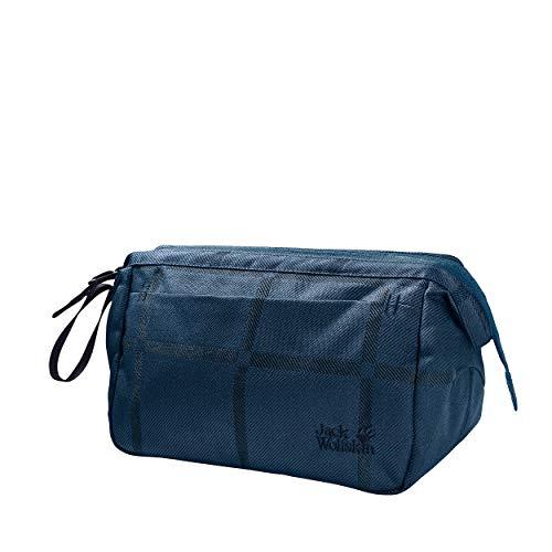 Jack Wolfskin W Space Talent Washbag Y.D. Lila/Violett, Damen Kulturtasche, Größe 4.5l - Farbe Indigo Big Check