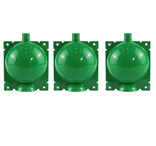 Vinyl Etchings Plant Rooting Device,3 Pack Assisted Cutting Rooting,Plant Root Growing Box,Combination Reusable Plant Root Growing Ball (Medium, Green)