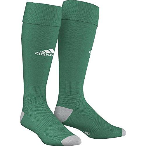 adidas Milano 16 Sock - Medias para hombre, multicolor ( Verde / Gris), talla 43-45 EU, 1 par