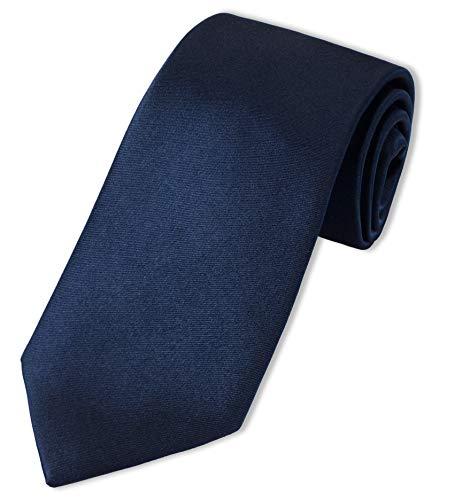 Parsley einfarbige XXL-Krawatte | extra lang, Seide
