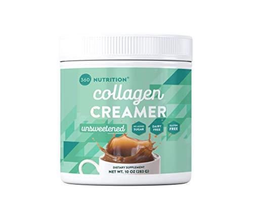 Collagen Creamer Dairy Free 5g Protein per Serving (Unsweetened, 10 oz)