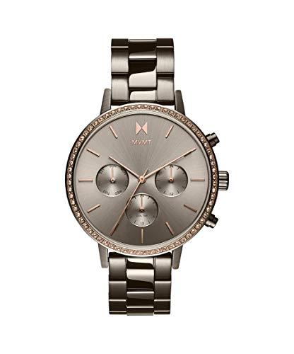 MVMT Damen Analog Quarz Uhr mit Edelstahl Armband 28000136-D