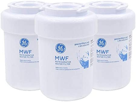G MWF GE Refrigerator Water Filter GE MWF Water Filter Replacement 3 Pack product image