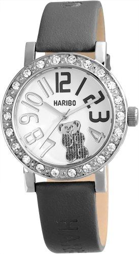 Haribo Damen-Armbanduhr Analog Leder HA10277-SL
