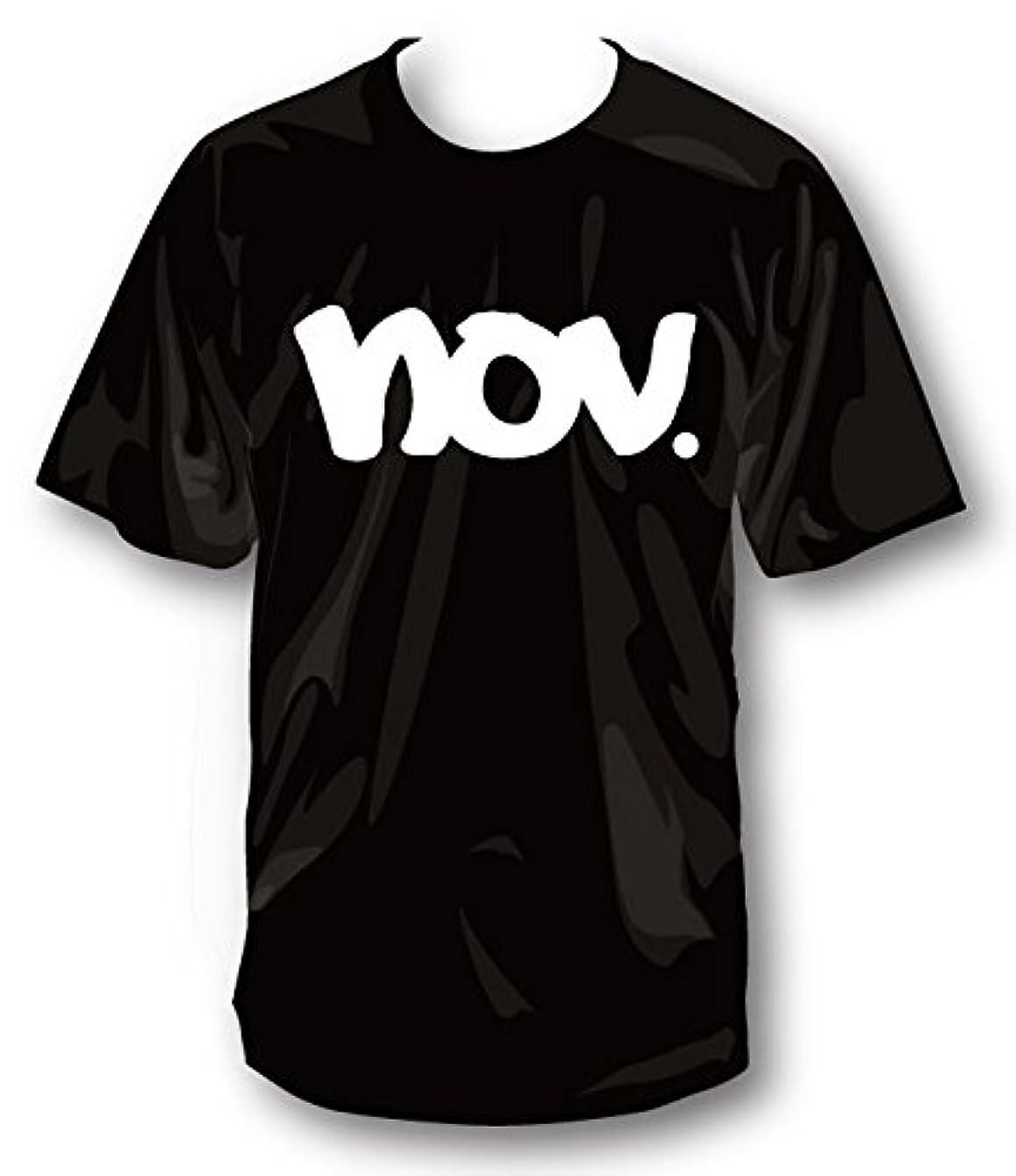 ナチュラ議論する大声で2019 NOVEMBER ノベンバー スノーボード T-LOGO [1] [2] コットンTシャツ 半袖 Tシャツ ユニセックス