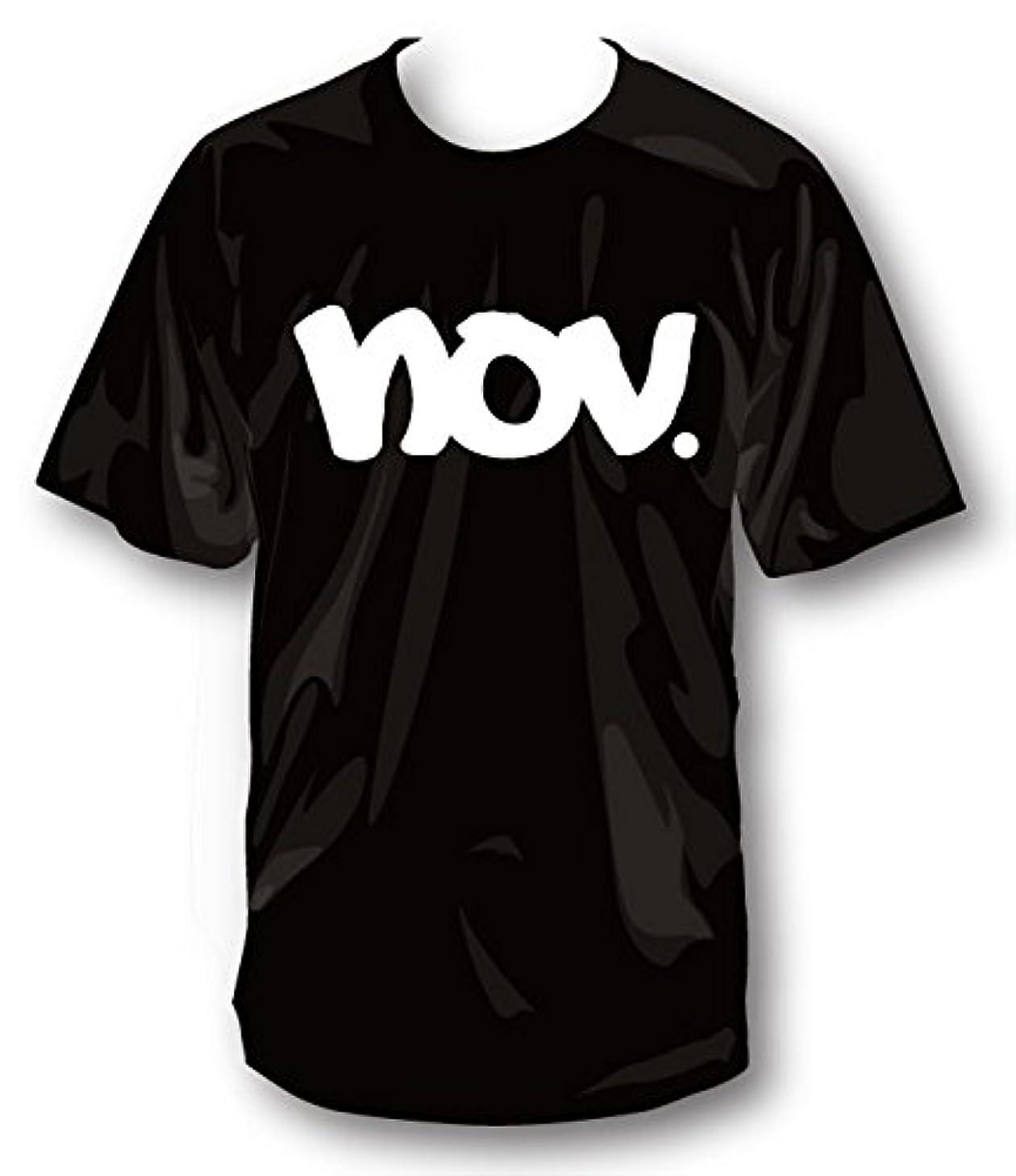 便利さハウジング貸し手2019 NOVEMBER ノベンバー スノーボード T-LOGO [1] [2] コットンTシャツ 半袖 Tシャツ ユニセックス