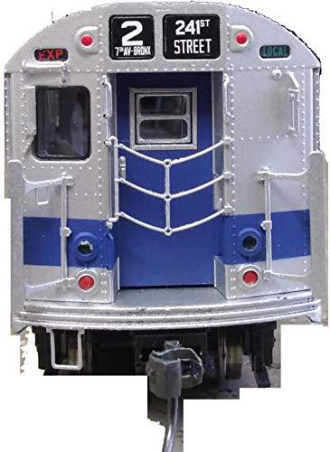 MTH NYC Subway HO Scale HO R-21 4-Car Subway Set (DCC Ready) 80-2377-0 North Bound