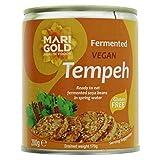 Caléndula Vegana Tempeh Rebanadas, 280 gramos, paquete de 3