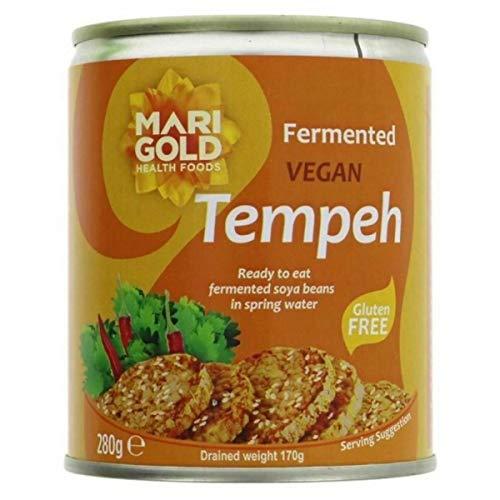 Caléndula Vegana Tempeh Rebanadas 280 gramos