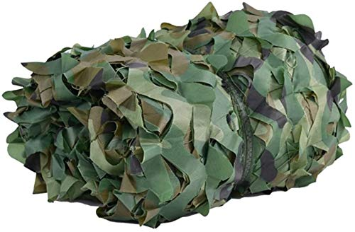 2mX4m Red de camuflaje camuflaje Net verde 2M X 3M Durable Militar cubierta del acoplamiento / Adecuado for sombra Decoración Caza Ciegos de disparo acampa Fotografía 44 Tamaño (Color: A Tamaño: 6 × 9