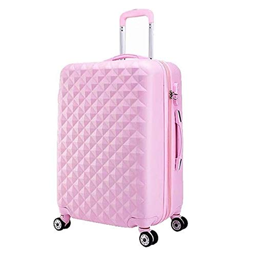 Mdsfe women spinner abs hard strong suitcase 20'24' 28'trolley case luggage set for traveling - 1pcs luggage only, 20'