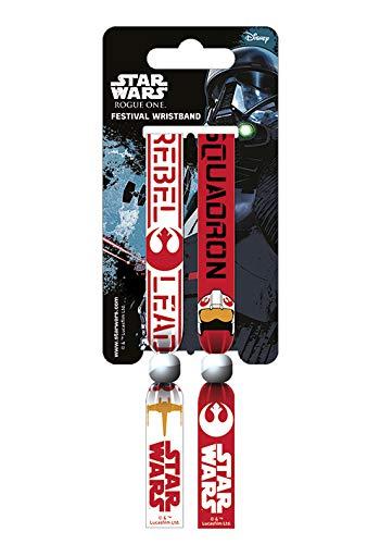 Star Wars FWR68078 Armband, Mehrfarbig, 10mm breit