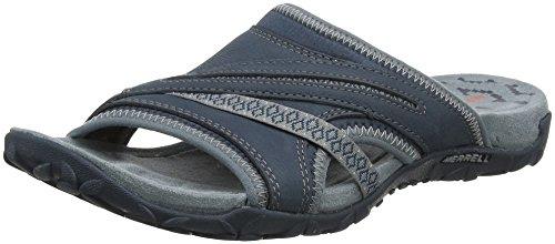 Merrell Women's Terran Slide II Sandal, Dark Slate, 8 M US