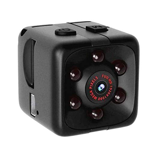 Makalon Mini Kamera Full HD 1080P Kleine Nanny Kamera Tragbare Mikro Überwachungskamera Cam IP Kamera Minicam, Wireless 150° Weitwinkel Sicherheit Kameras, Infrarot Nachtsicht und Bewegungserkennung