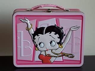 Betty Boop Lg. Tin Lunch Box (Pink)