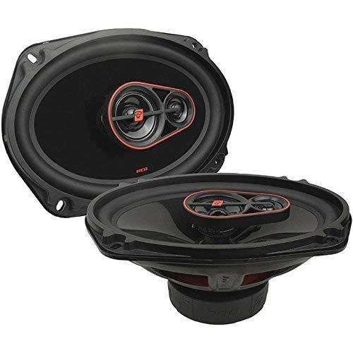 Cewin Vega 6x9 4-Way Coaxial Speaker System 440 Watts Max HED Series 4 Speakers Pack
