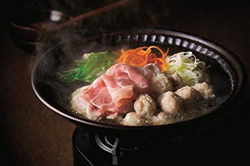 みつせ鶏本舗 みつせ鶏 がばうま鍋/3~4人分(1箱) ● ももスライス200g×2パック● ふわふわだんご230g×1袋● 鍋スープ(希釈タイプ)200g×1袋