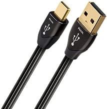 AudioQuest Pearl 1.5 m Micro-USB Cable, USB A Micro-USB B Male/Male USB Cable-Black (1.5 m, USB A, Micro-USB B, 2.0, Male/Male, Black).