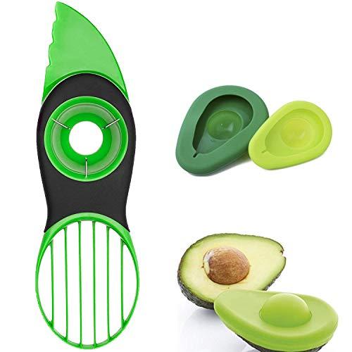 Avocado Slicer, 3 in 1Avocado Cutter with Avocado Saver or Avocado Pillow & Avocado Cover - Ksndurn Perfect Multifunctional Avocado Tool