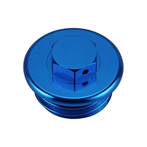 Cubierta de tapón de tapón de llenado de Aceite, para SX SXF EXCV XC XCW XCF XCFW 50 65 85 105 125 150 250 350 450 525 690 1290 Super Duke (Color : Blue)