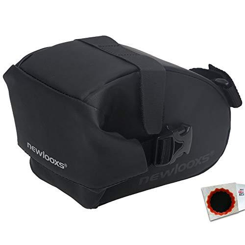 New Looxs Satteltasche Saddle Bag Sports 0,9L Klettverschluss 17x10x9cm schwarz