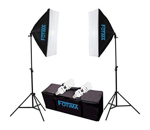 Fotima FTF-85-Set studio fluorescente, 2 x 85 W