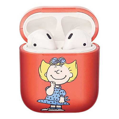 Peanuts Sally Brown ピーナッツ サリー ブラウン AirPods と互換性があります ケース エアーポッズ用ケース 硬い スリム ハード カバー (ハッピー サリー) [並行輸入品]