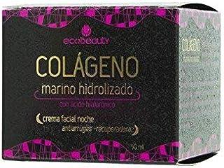 Ecobeauty Crema Facial Noche Colageno 60Ml Ecobeauty 1 Unidad 60 g: Amazon.es: Belleza