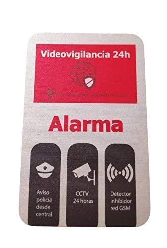 Pegatinas de alarma (5 unidades, varios tamaños)