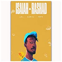 Ipea Isaiah Rashad Lil Sunny Tour Music Canvas Painting Wall Art Posters Hd Print For Living Room Home Decor(19.69X27.56 In)50X70 Cm Unframed
