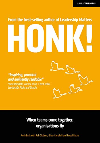 Honk!: When teams come together, organisations fly (English Edition)