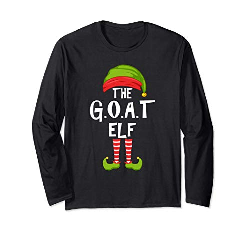 G.O.A.T. Grupo de pijamas para la fiesta familiar de Navidad Manga Larga
