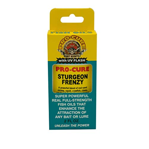 Pro-Cure Sturgeon Frenzy Bait Oil, 2-Ounce