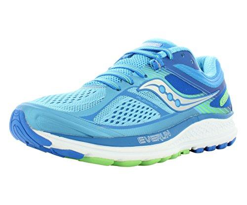 Saucony Women's Guide 10 Running Shoe, Light Blue | Blue, 8 M US