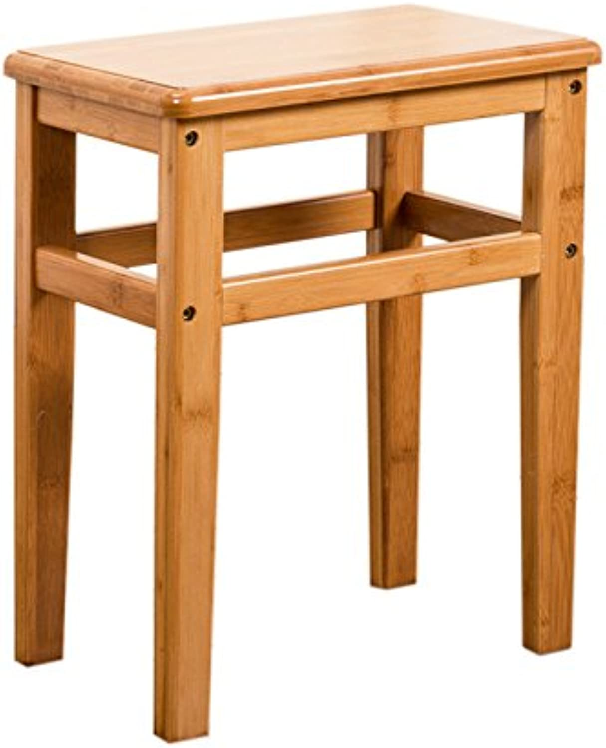 Solid Wood Bench Table Stool Creative Meal Stool Fashion Low Stool Square Stool Wooden Bench 33  23  42cm