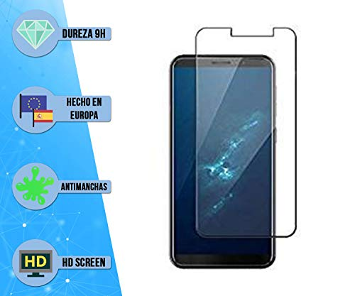 im77r Pack De 2 Unidades de Protectores de Pantalla Premium 2.5D Cristal Vidrio Templado Transparente 9H Compatible para Cubot J5 Anti Arañazos Anti Golpes Facil Instalacion