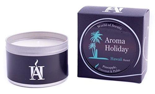 Aroma Urlaub, Luxus Duftkerze in Dose, Hawaii (Sweet)