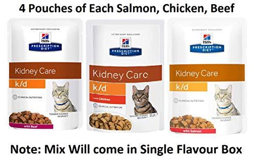 HILL'S PRESCRIPTION Diet Feline k/d Kidney Care MIX PACK 12 x 85g