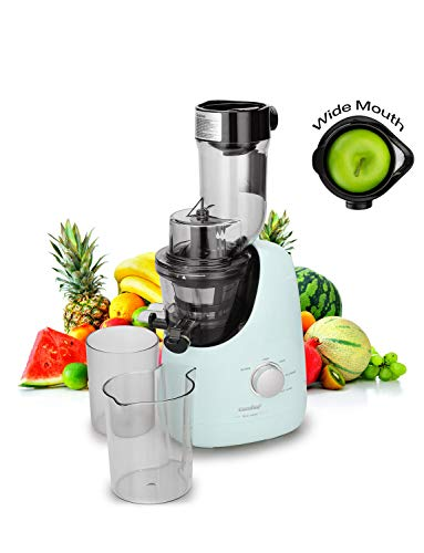 COMFEE' BPA Free Masticating Juicer Extractor with Ice Cream Maker Function. 3.4inch...
