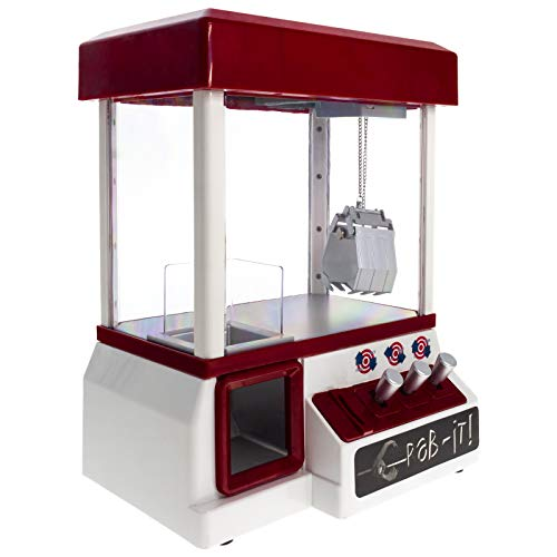 Smartfox Süßigkeiten Greifautomat Spielautomat Greifspiel Süßigkeitenspender Spielzeug Candy Grabber Jahrmarkt inkl. Spielmünzen