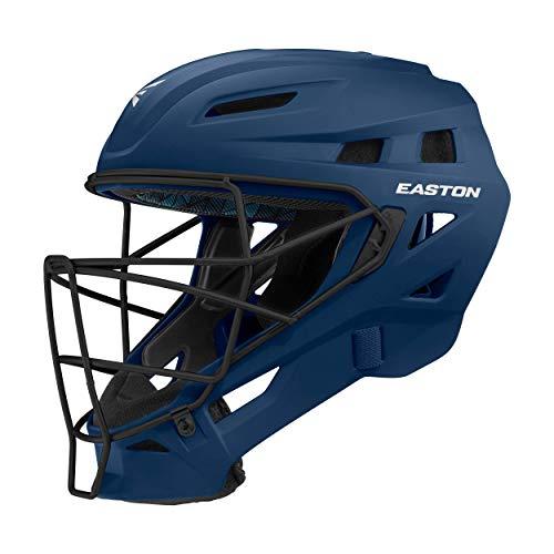 EASTON ELITE X Catcher's Helmet, Small, Matte Navy