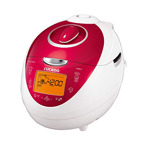 CUCKOO Reiskocher CRP-N0681F Digitaler Reiskocher klein | HP Digitaler Dampfdruck | Reis Kocher | Rice Cooker
