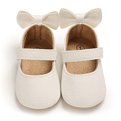 Cheerful Mario Baby Girls First Walking Shoes Flat Mary Jane Shoes Infant...
