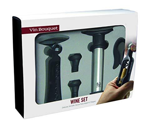 Vinbouquet sacacorchos de Giro y Bomba FI 003 Set Descorchador,