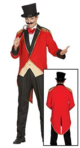 Guirca- Disfraz adulto presentador de circo, Talla 48-50 (84586.0)
