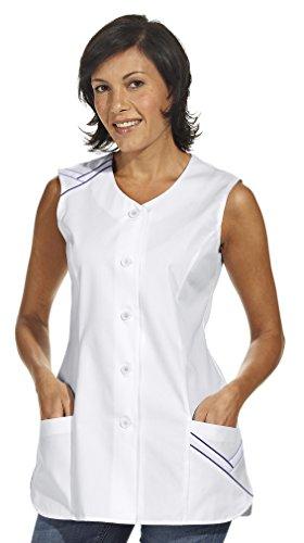 LEIBER Hosenkasack - Damen-Kasack - ohne Arm - weiß - Größe: 46
